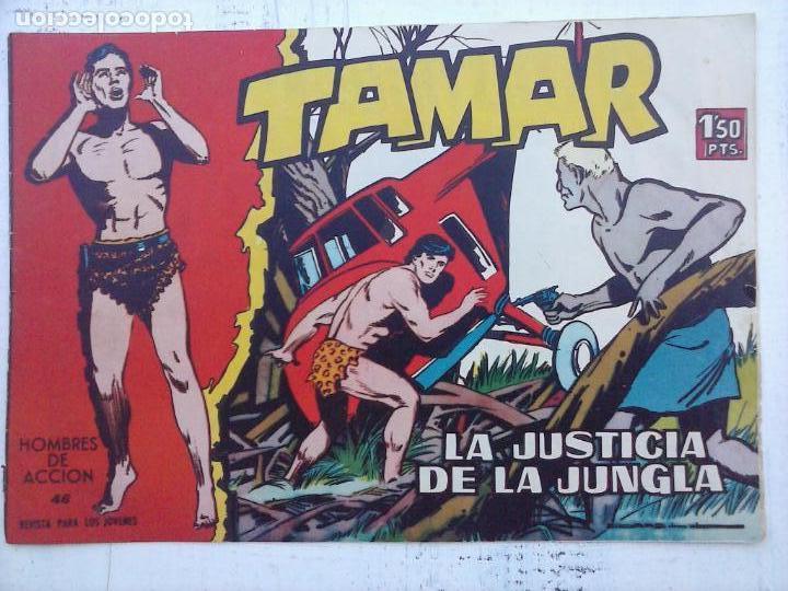 Tebeos: TAMAR COLECCION COMPLETA ORIGINAL SUELTA 1 al 186 - MAGNÍFICO ESTADO, VER TODAS LAS PORTADAS, 1961 - Foto 183 - 135844734