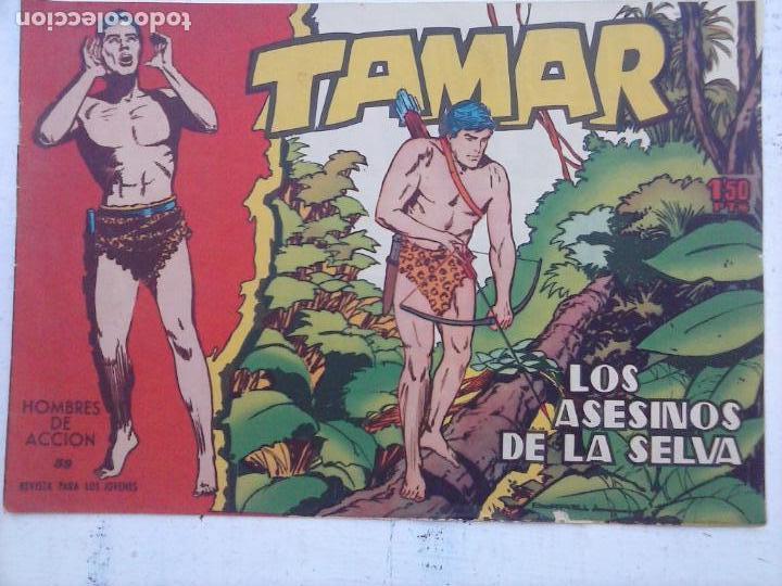 Tebeos: TAMAR COLECCION COMPLETA ORIGINAL SUELTA 1 al 186 - MAGNÍFICO ESTADO, VER TODAS LAS PORTADAS, 1961 - Foto 185 - 135844734