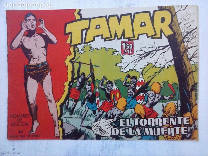 Tebeos: TAMAR COLECCION COMPLETA ORIGINAL SUELTA 1 al 186 - MAGNÍFICO ESTADO, VER TODAS LAS PORTADAS, 1961 - Foto 186 - 135844734