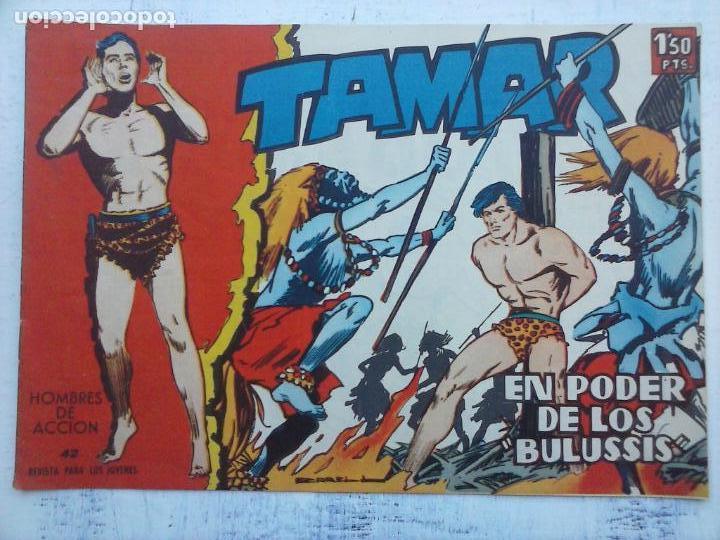 Tebeos: TAMAR COLECCION COMPLETA ORIGINAL SUELTA 1 al 186 - MAGNÍFICO ESTADO, VER TODAS LAS PORTADAS, 1961 - Foto 187 - 135844734