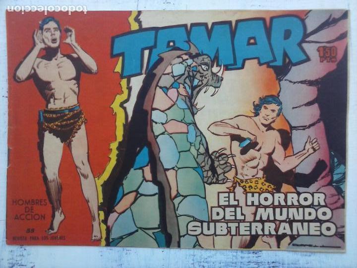 Tebeos: TAMAR COLECCION COMPLETA ORIGINAL SUELTA 1 al 186 - MAGNÍFICO ESTADO, VER TODAS LAS PORTADAS, 1961 - Foto 188 - 135844734
