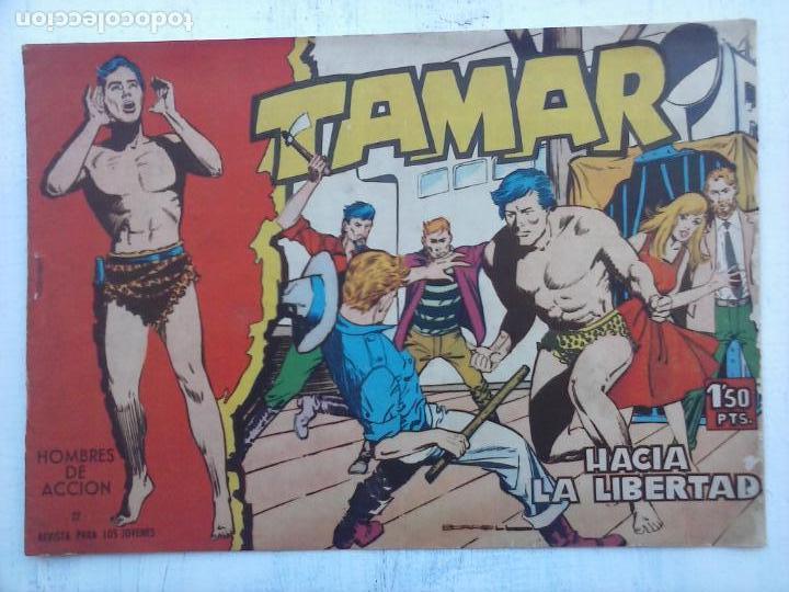 Tebeos: TAMAR COLECCION COMPLETA ORIGINAL SUELTA 1 al 186 - MAGNÍFICO ESTADO, VER TODAS LAS PORTADAS, 1961 - Foto 189 - 135844734