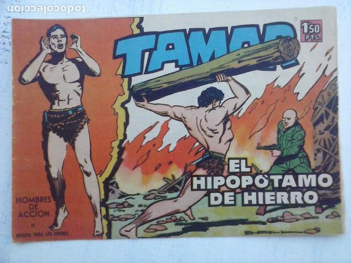 Tebeos: TAMAR COLECCION COMPLETA ORIGINAL SUELTA 1 al 186 - MAGNÍFICO ESTADO, VER TODAS LAS PORTADAS, 1961 - Foto 190 - 135844734