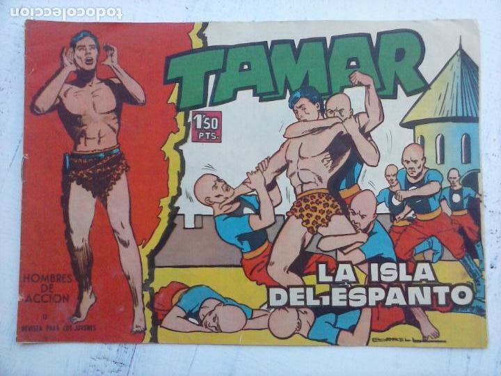 Tebeos: TAMAR COLECCION COMPLETA ORIGINAL SUELTA 1 al 186 - MAGNÍFICO ESTADO, VER TODAS LAS PORTADAS, 1961 - Foto 192 - 135844734