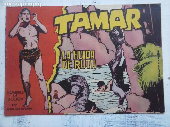 Tebeos: TAMAR COLECCION COMPLETA ORIGINAL SUELTA 1 al 186 - MAGNÍFICO ESTADO, VER TODAS LAS PORTADAS, 1961 - Foto 193 - 135844734