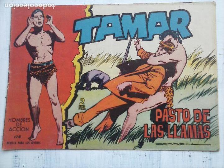 Tebeos: TAMAR COLECCION COMPLETA ORIGINAL SUELTA 1 al 186 - MAGNÍFICO ESTADO, VER TODAS LAS PORTADAS, 1961 - Foto 194 - 135844734