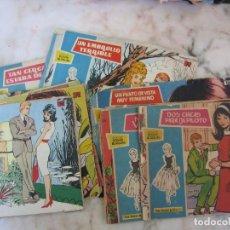 Tebeos: LOTE 11 TITULOS DE TEBEOS COMICS COLECCION ROSAS BLANCAS 1958. Lote 135856150