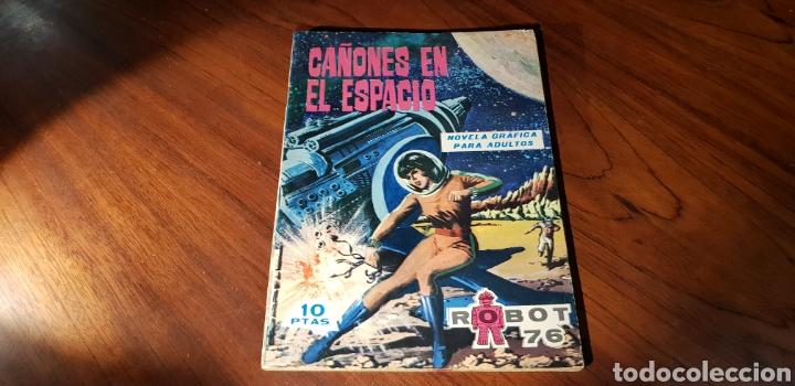 ROBOT 76 11 VER FOTO FALTA TROZO PAPEL CONTRAPORTADA (Tebeos y Comics - Toray - Otros)