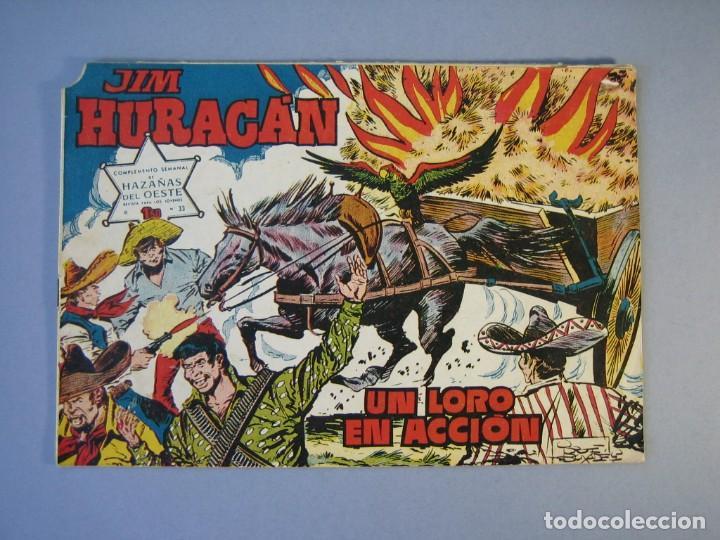 JIM HURACAN (1960, TORAY) 33 · 21-X-1960 · UN LORO EN ACCION (Tebeos y Comics - Toray - Otros)