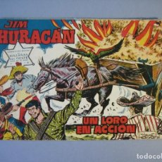 Tebeos: JIM HURACAN (1960, TORAY) 33 · 21-X-1960 · UN LORO EN ACCION. Lote 136426930