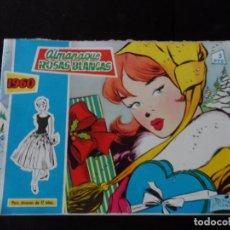 Tebeos: ROSAS BLANCAS - ALMANAQUE 1960 - EDICIONES TORAY ORIGINAL . Lote 136486294
