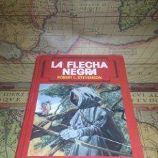 Tebeos: LA FLECHA NEGRA. ROBERT L. STEVENSON. TORAY 1990.. Lote 136511646