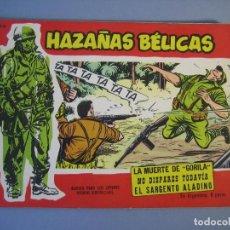 Tebeos: HAZAÑAS BELICAS (1958, TORAY) -EXTRA ROJO- 92 · 1-VI-1962 · HAZAÑAS BÉLICAS. Lote 136513962