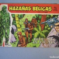 Tebeos: HAZAÑAS BELICAS (1958, TORAY) -EXTRA ROJO- 154 · 16-X-1964 · HAZAÑAS BÉLICAS. Lote 136656258