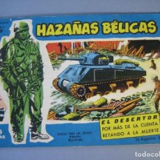 Tebeos: HAZAÑAS BELICAS (1957, TORAY) -EXTRA AZUL- 129 · 16-III-1962 · HAZAÑAS BÉLICAS. Lote 136660710