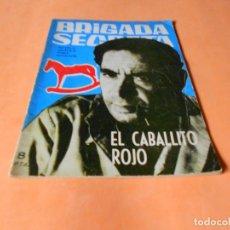 Tebeos: BRIGADA SECRETA Nº 61 EL CABALLITO ROJO - EDICIONES TORAY 1964. Lote 136814178