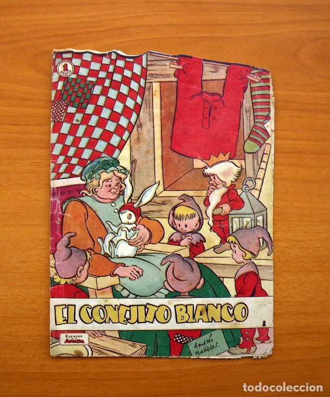 CUENTOS DE LA ABUELITA - TROQUELADOS - Nº 1, EL CONEJITO BLANCO - EDICIONES TORAY 1949 (Tebeos y Comics - Toray - Cuentos de la Abuelita)