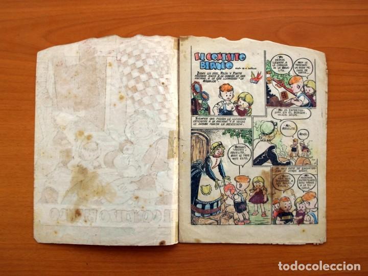 Tebeos: Cuentos de la abuelita - Troquelados - nº 1, El conejito blanco - Ediciones Toray 1949 - Foto 2 - 137391674