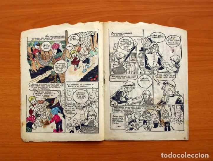 Tebeos: Cuentos de la abuelita - Troquelados - nº 1, El conejito blanco - Ediciones Toray 1949 - Foto 4 - 137391674