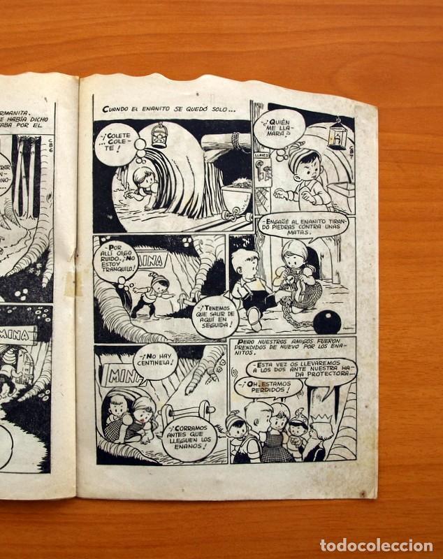 Tebeos: Cuentos de la abuelita - Troquelados - nº 1, El conejito blanco - Ediciones Toray 1949 - Foto 5 - 137391674