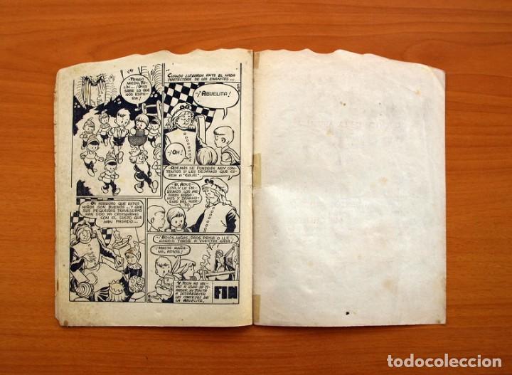 Tebeos: Cuentos de la abuelita - Troquelados - nº 1, El conejito blanco - Ediciones Toray 1949 - Foto 6 - 137391674