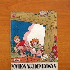 Tebeos: CUENTOS DE LA ABUELITA - TROQUELADOS - Nº 3, NOVILLOS ACCIDENTADOS - EDICIONES TORAY 1949. Lote 137392118