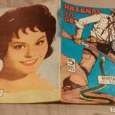 Tebeos: HAZAÑAS DEL OESTE - Nº122 EXCURSION AL OESTE - EDICIONES TORAY, 1966. Lote 137537014