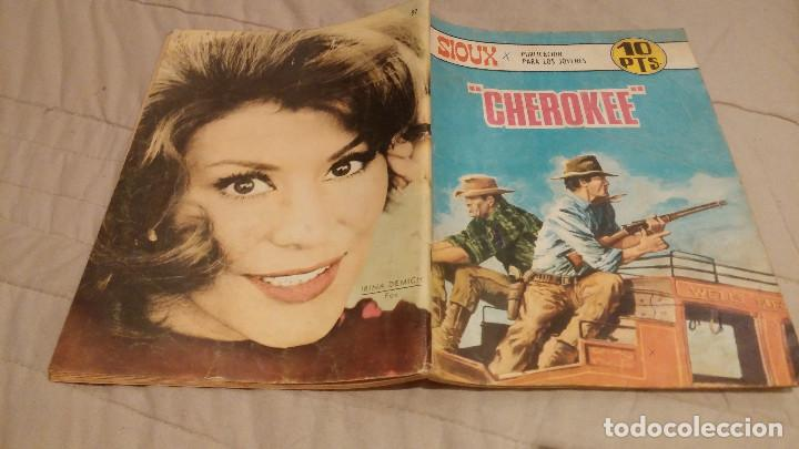 SIOUX - Nº 97 CHEROKE - EDICIONES TORAY 1967 (Tebeos y Comics - Toray - Sioux)