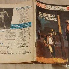 Tebeos: SIOUX - Nº 182 DE NECESITA CULPABLE - EDICIONES TORAY 1971. Lote 137538342