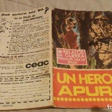 Tebeos: RELATOS DE GUERRA - Nº171 -ÚN HÉROE EN APUROS - 1969. Lote 137541194