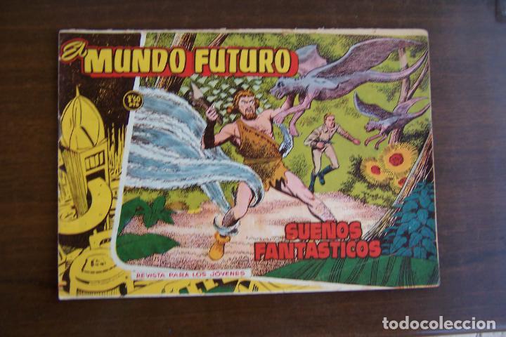 Tebeos: lote mundo futuro, 100 nº, fotos individual de 104 incluido los almanaques - Foto 142 - 132716850