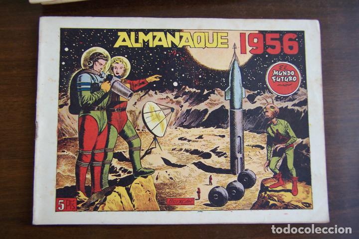 Tebeos: lote mundo futuro, 100 nº, fotos individual de 104 incluido los almanaques - Foto 170 - 132716850
