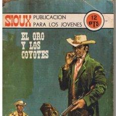 Tebeos: SIOUX - Nº 181 - EL ORO Y LOS COYOTES- 1971 - GRAN JAIME FORNS- BUENO- MUY DIFÍCIL-LEAN-9589. Lote 137853122