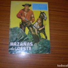 Tebeos: HAZAÑAS DEL OESTE Nº 18 EDITA TORAY . Lote 138203166