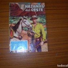 Tebeos: HAZAÑAS DEL OESTE Nº 22 EDITA TORAY . Lote 138204198