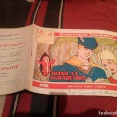 Tebeos: COLECCION LINDAFLOR - DIANA LA AGRADECIDA Nº174 - EDICIONES TORAY 1955 . Lote 139080826