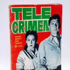 Comics - ESPIONAJE 7. TELE CRIMEN (L.G. Milk / Antonio Borrell) Toray, 1965 - 139394634