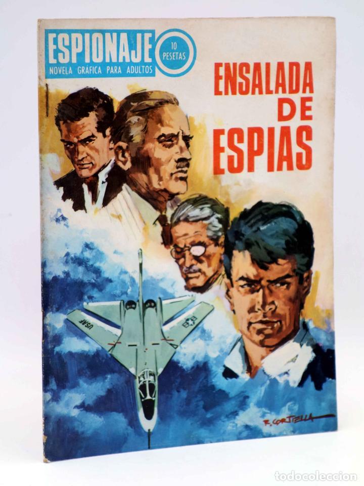 ESPIONAJE 61. ENSALADA DE ESPÍAS (ALEX SIMMONS / JOSÉ GUAL / R. CORTIELLA) TORAY, 1967 (Tebeos y Comics - Toray - Espionaje)