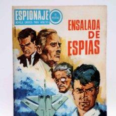 Comics - ESPIONAJE 61. ENSALADA DE ESPÍAS (Alex Simmons / José Gual / R. Cortiella) Toray, 1967 - 139394682