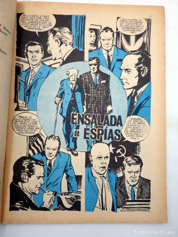 Tebeos: ESPIONAJE 61. ENSALADA DE ESPÍAS (Alex Simmons / José Gual / R. Cortiella) Toray, 1967 - Foto 3 - 139394682