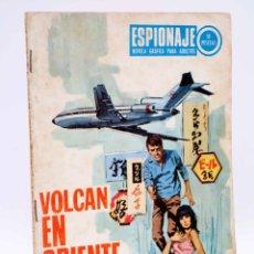 Comics - ESPIONAJE 67. VOLCÁN EN ORIENTE (Alex Simmons / Vicente Farrés / R. Cortiella) Toray, 1967 - 139394690