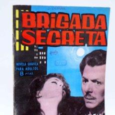 Tebeos: BRIGADA SECRETA 51. LA DESAPARICIÓN DE LAURA (M.V. RODOREDA / JESÚS DURÁN) TORAY, 1964. Lote 139394702