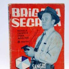 Tebeos: BRIGADA SECRETA 65. SANGRE POR DIAMANTES (F. SESÉN / A. FONT) TORAY, 1964. Lote 139394706