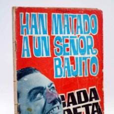 Tebeos: BRIGADA SECRETA 113. HAN MATADO A UN SEÑOR BAJITO (E. SOTILLOS / A. HUÉSCAR) TORAY, 1965. Lote 139394722
