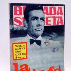 Tebeos: BRIGADA SECRETA 160. LA ESTAFA (M.V. RODOREDA) TORAY, 1966. Lote 139394734