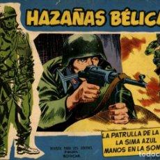 Tebeos: HAZAÑAS BÉLICAS. NÚMERO EXTRA 24. TOMOS AZULES (TORAY, 1958) DE BOIXCAR. Lote 139529034