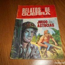 Tebeos: RELATOS DE GUERRA , 226, JUEGO DE ASTUCIAS , ED. TORAY. Lote 139644026