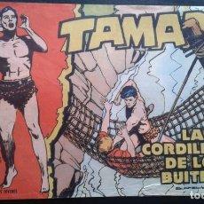 Tebeos: TEBEO / CÓMIC TORAY TAMAR N 12 ORIGINAL 1961 LA CORDILLERA DE LOS BUITRES. Lote 139749630