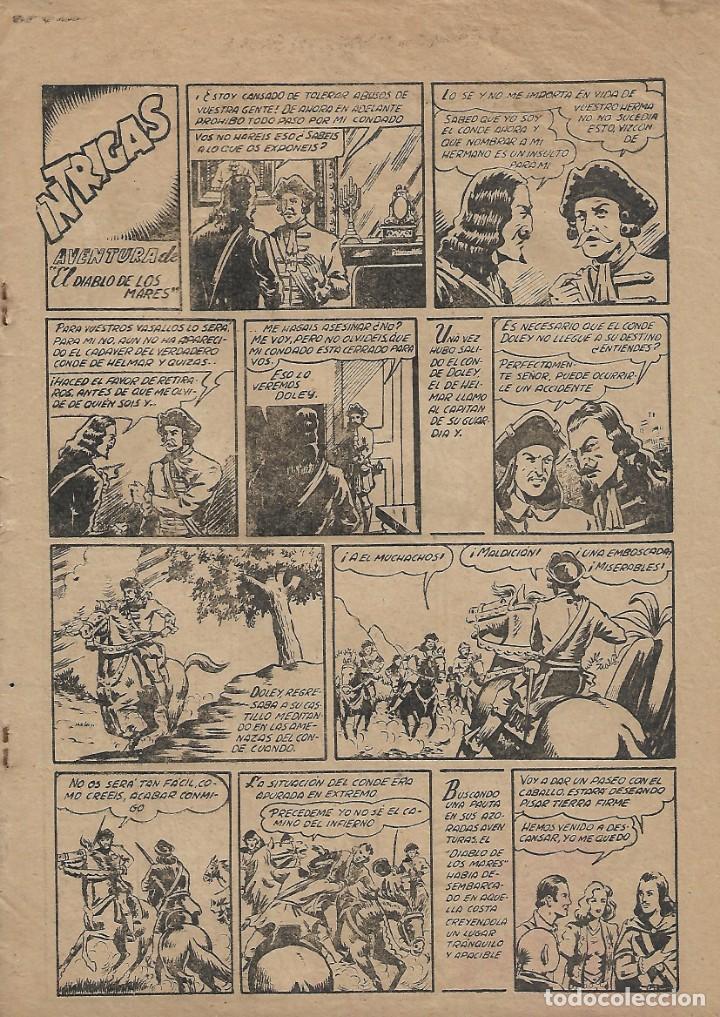 Tebeos: El Diablo de los Mares, Año 1.947 Colección Completa son 68 Tebeos + Almanaque 1948 de Ferrando. - Foto 4 - 139805446