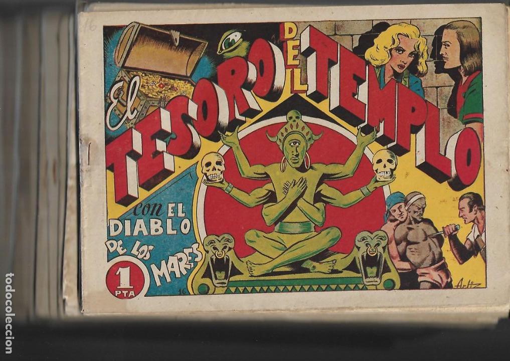 Tebeos: El Diablo de los Mares, Año 1.947 Colección Completa son 68 Tebeos + Almanaque 1948 de Ferrando. - Foto 6 - 139805446